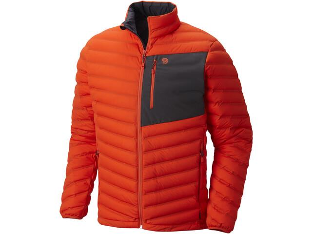 Mountain Hardwear Stretch Down Jacket Herren orange